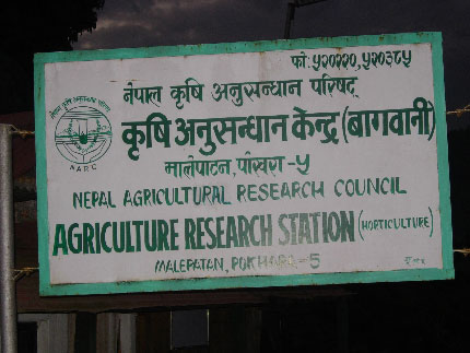 male patan agricultural research station
