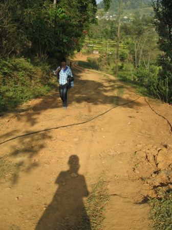 walking in gorkha