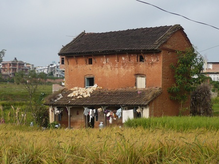 a house on the way to Naag daha