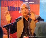 Jaipur Literature Festival , Hindi newspaper Janasatta's editor Om Thanvi