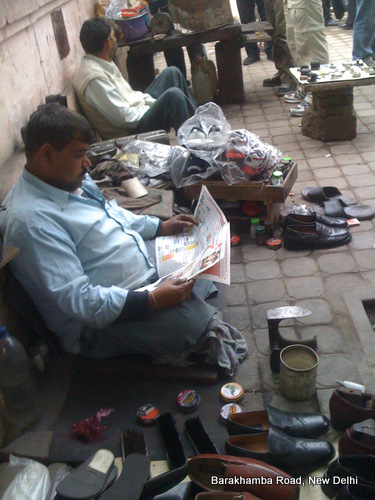 Shoes, Newspapers