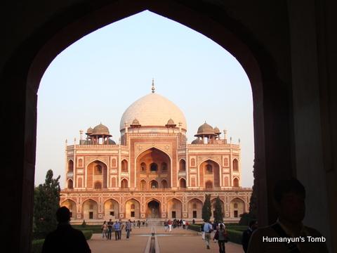 Humanyun's Tomb, Delhi