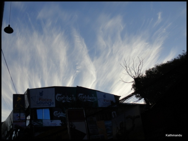 as seen from Thamel #Kathmandu