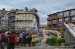 Monarchy is long gone but king Tribhuvan's statue survives