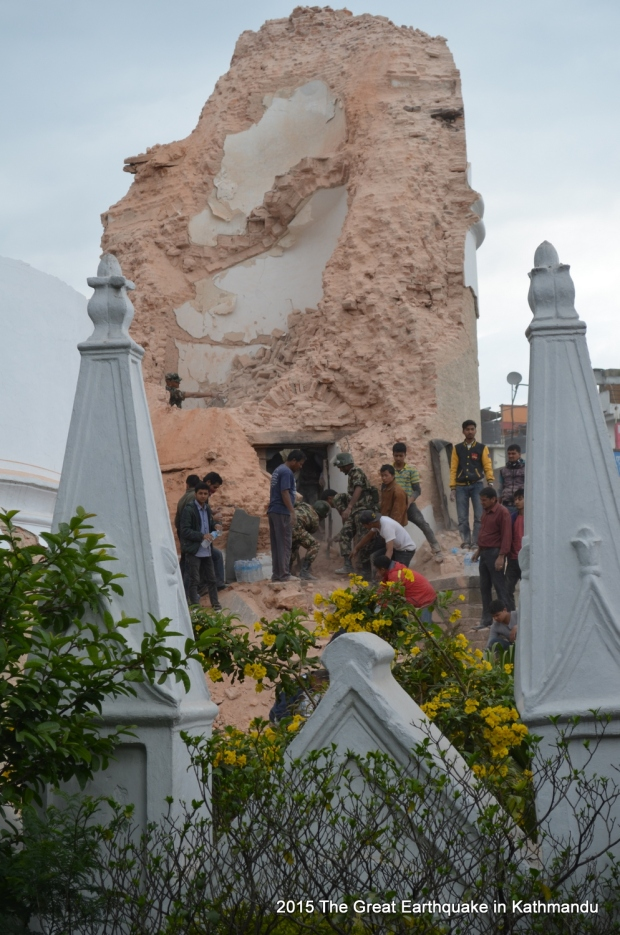 The iconic Dharahara tower in Kathmandu is no more.  This is an end of an era for the Capital. It will now have to find a new landmark for itself.