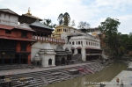 I have never seen this part of Pasupatinath so empty. While the city was in chaos this area felt immensely peaceful