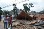 Nandi Ratri School building in Naxal collapsed